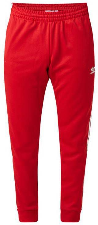 Adidas Originals Superstar Cuffed Trainingsbroek Heren Rood ...